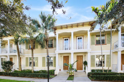 Jupiter Townhouse For Sale: 4187 Maya Cay Lane