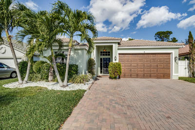 Royal Palm Beach Single Family Home For Sale: 221 Preserve Court