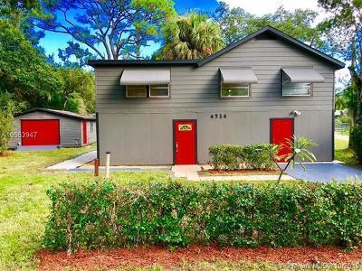 Fort Pierce Single Family Home For Sale: 4714 Sunrise Boulevard
