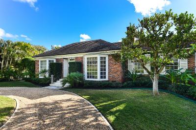 Palm Beach Single Family Home For Sale: 200 Merrain Road
