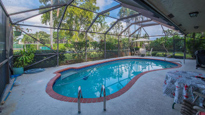 Boynton Beach Single Family Home Contingent: 3 Cedar Circle