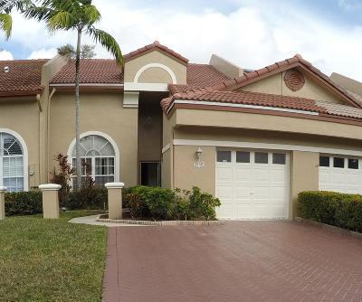 Tamarac Single Family Home Contingent: 9739 Malvern Drive