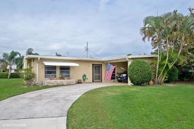 Fort Pierce Single Family Home For Sale: 418 Coconut Avenue E