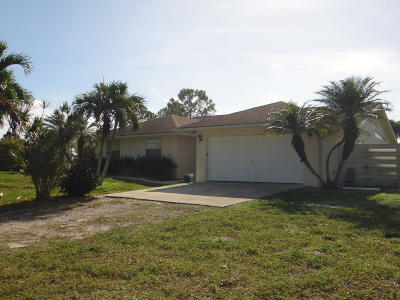 Loxahatchee Single Family Home For Sale: 18308 Murcott Boulevard