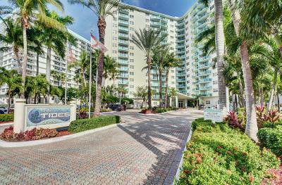 Hollywood Condo For Sale: 3801 S Ocean Drive #11e