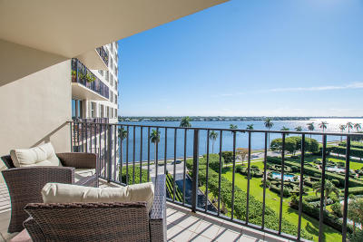 West Palm Beach Condo For Sale: 1701 S Flagler Drive #804