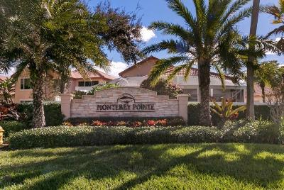 Palm Beach Gardens Townhouse For Sale: 136 Monterey Pointe Drive