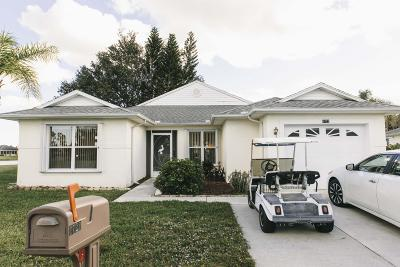 Fort Pierce Single Family Home For Sale: 6722 Picante Circle
