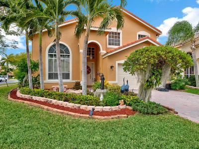 Boynton Beach Single Family Home For Sale: 7523 Colony Lake Drive