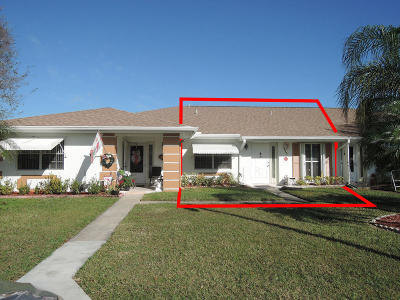 Fort Pierce Condo Contingent: 1204 S Lakes End Drive #B