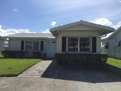 Boynton Beach Single Family Home For Sale: 1104 Ocean Drive