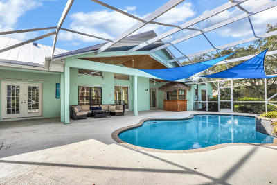 Palm City Single Family Home Contingent: 3389 SW Wood Creek Trail