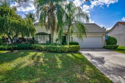 Palm Beach Gardens Single Family Home For Sale: 10236 Hunt Club Lane