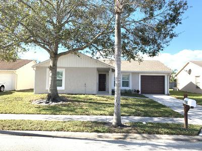 Jupiter Single Family Home For Sale: 114 Deerfield Court