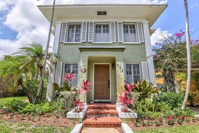 West Palm Beach Single Family Home For Sale: 309 Pershing Way