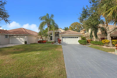 Palm Beach Gardens Single Family Home For Sale: 6831 Briarlake Circle