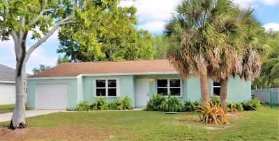 Port Saint Lucie Single Family Home For Sale: 2549 SE Blackwell Drive