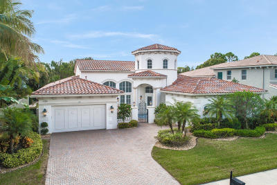 Palm Beach Gardens Single Family Home For Sale: 1130 San Michele Way