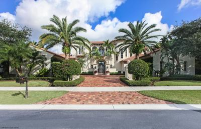 Palm Beach Gardens FL Single Family Home For Sale: $3,800,000