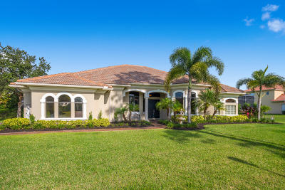 Palm City Single Family Home Contingent: 10327 SW Fiddlers Way