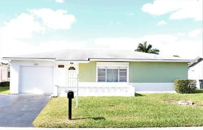 Delray Beach Single Family Home For Sale: 14243 Altocedro Drive