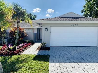 Boca Raton Single Family Home For Sale: 4936 Willow Drive