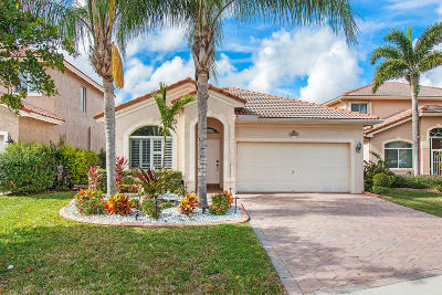 Coconut Creek Single Family Home For Sale: 5103 Woodfield Way