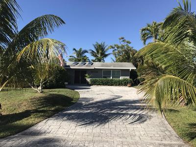 Palm Beach Gardens Single Family Home For Sale: 10857 Magnolia Street