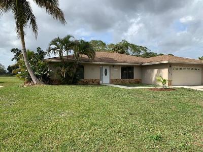Royal Palm Beach Single Family Home For Sale: 217 Sandpiper Avenue