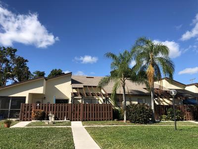 Delray Beach Single Family Home Contingent: 13959 Nesting Way #B