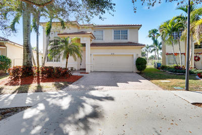 Weston Single Family Home For Sale: 16447 Sapphire Place