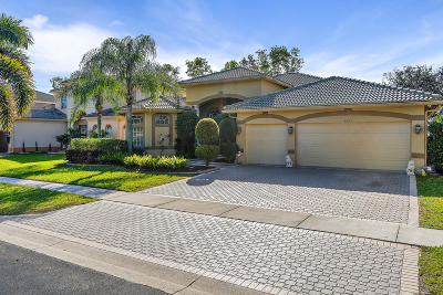 Royal Palm Beach Single Family Home For Sale: 1823 Waldorf Drive