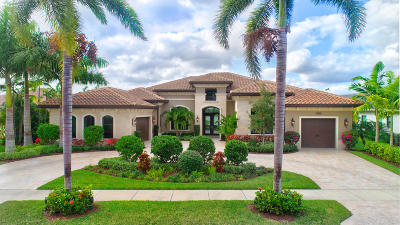 Delray Beach Single Family Home For Sale: 16623 Fleur De Lis Way