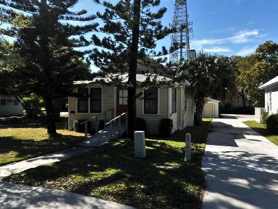 Fort Pierce Single Family Home For Sale: 319 S 7th Street