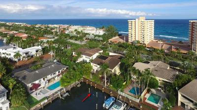 Highland Beach Townhouse For Sale: 4502 S Ocean Boulevard