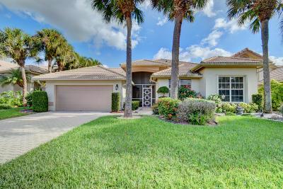 Boynton Beach Single Family Home For Sale: 7204 Ashford Lane