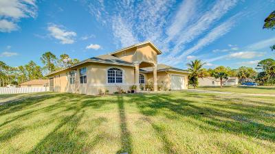 Loxahatchee Single Family Home For Sale: 15425 82nd Street