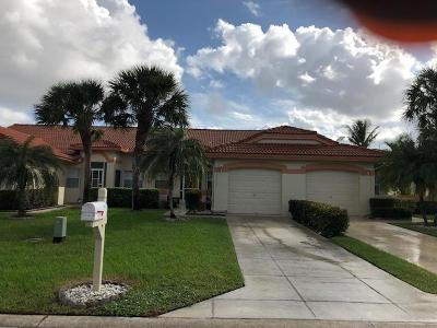 Delray Beach Single Family Home For Sale: 15172 W Tranquility Lake Drive
