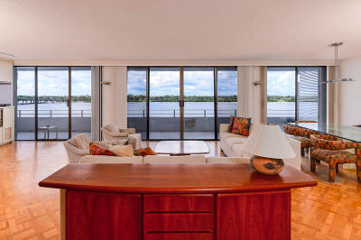 Palm Beach Single Family Home For Sale: 2784 S Ocean Boulevard #501s