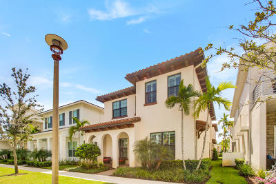 Palm Beach Gardens Single Family Home For Sale: 4009 Faraday Way
