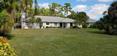 Lake Worth Single Family Home For Sale: 9769 Saddle Court