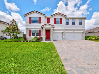 Royal Palm Beach Single Family Home For Sale: 11971 Cypress Key Way