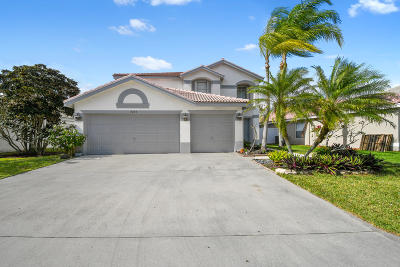Boynton Beach Single Family Home For Sale: 7255 Chesapeake Circle