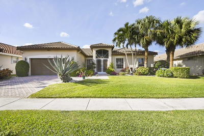 Boynton Beach Single Family Home For Sale: 6723 Chimere Terrace