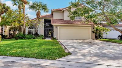 Lake Worth Single Family Home For Sale: 7409 Oakboro Drive
