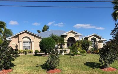 Port Saint Lucie Single Family Home For Sale: 180 SW Paar Drive