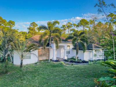 Loxahatchee Single Family Home For Sale: 17979 72nd Road