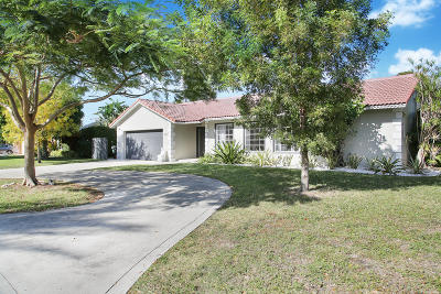 Boca Raton Single Family Home For Sale: 1021 NW 6th Street