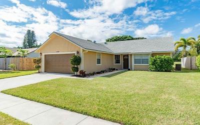 Boynton Beach Single Family Home For Sale: 1830 Banyan Creek Cr