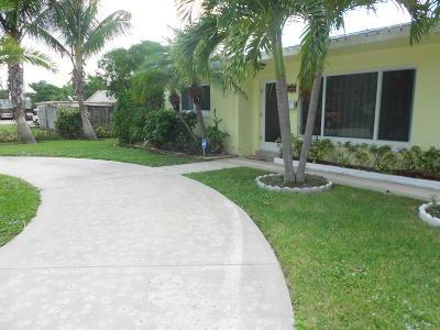 Boynton Beach Single Family Home For Sale: 312 SW 8th Avenue